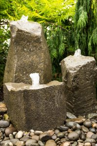 rock water fountains